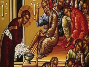 Eucharist of the Lord's Supper with the Stripping of the Altar service