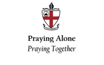 We never pray alone
