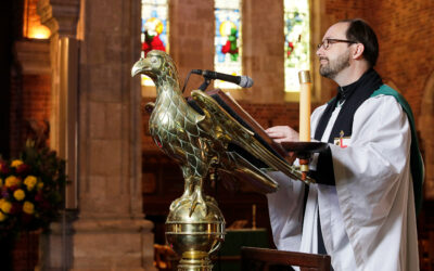 Announcement: Resignation of the Precentor, The Reverend Gareth Gilbert-Hughes